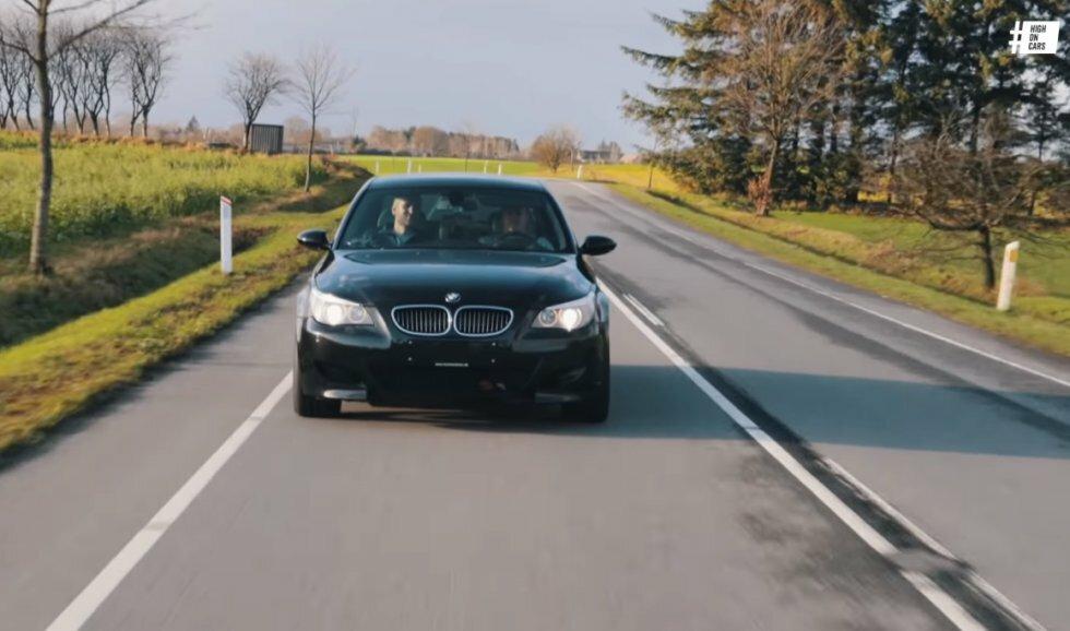V8 mod V10  BMW M5 F10 vs BMW M5 E60 | Connery