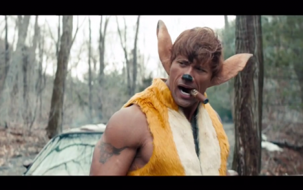 The Rock parodierer Disney's Bambi