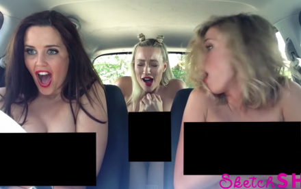 3 babes på roadtrip pt. 2 [Dirty edition]