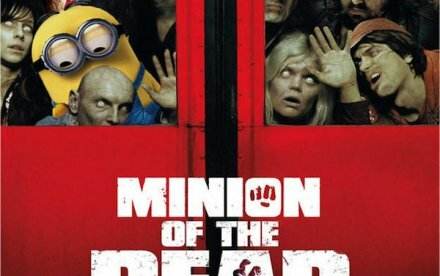 Minions overtager populære filmplakater