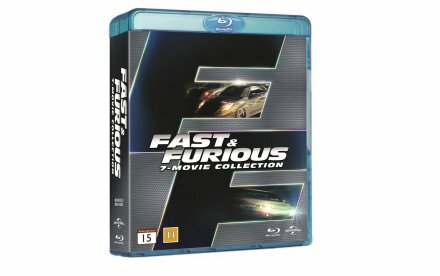 [Konkurrence] Vind Fast & Furious 7-Movie Collection på Blu-ray
