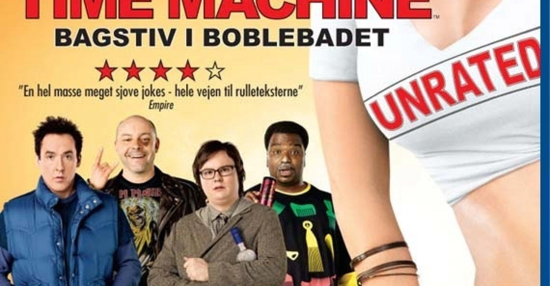 Hot Tub Time Machine - På Blu-ray og dvd | Connery